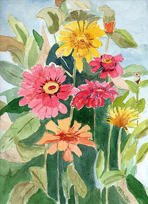 Painting - Lovely Flowers by Dorothy Karle Griffith