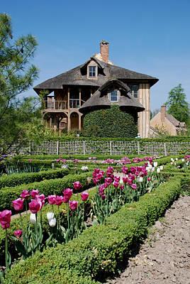 Lovely Garden And Cottage Print by Jennifer Lyon