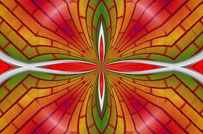 Lovely Geometric  Art Print