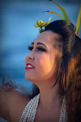 Photograph - Lovely Hula Girl by Lori Seaman