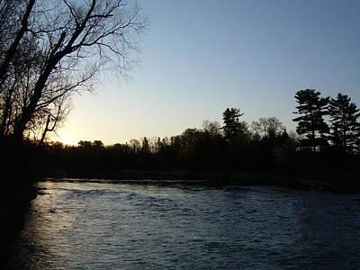 Photograph - Lovely Light On Mississippi River by Kent Lorentzen