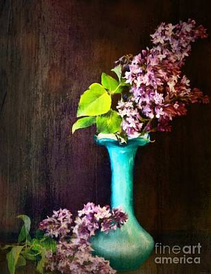 Painting - Lovely Lilacs by Tina LeCour