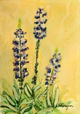 Lovely Lupines Art Print