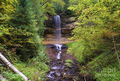Photograph - Lovely Munising Falls 2 by Rachel Cohen