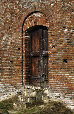Photograph - Lovely Old Door by Marilyn Hunt