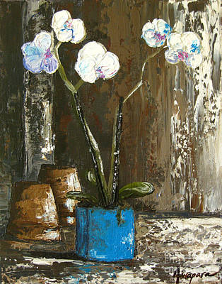 Painting - Lovely Orchids by Patricia Awapara