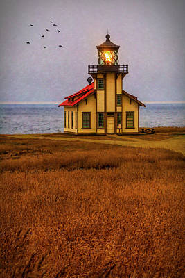 Photograph - Lovely Point Cabrillo Light Station by Garry Gay
