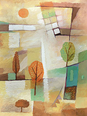 Painting - Lovely Site by Lutz Baar