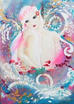 Lovemist Art Print by Tiina Rauk