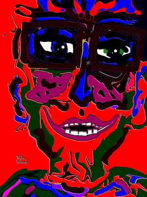 Folk Art Mixed Media - Lover Boy by Natalie Holland
