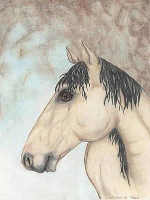 Horse Lovers Drawing - Loverboy by Jennifer Skalecke