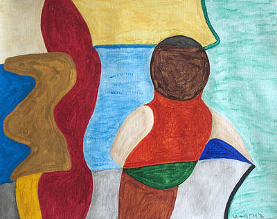 Lovers By The Sea Original by Stormm Bradshaw