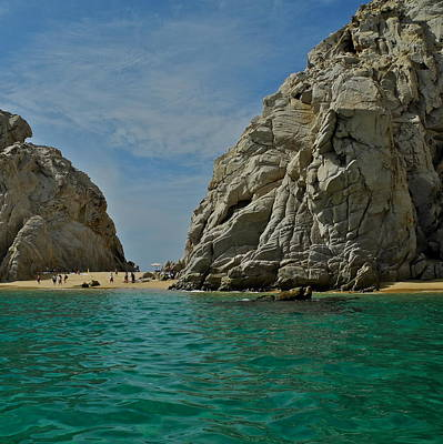 Lovers Beach In Cabo San Lucas Art Print by Kirsten Giving