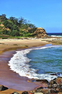 Beach Scenes Photograph - Lover's Beach by Kaye Menner