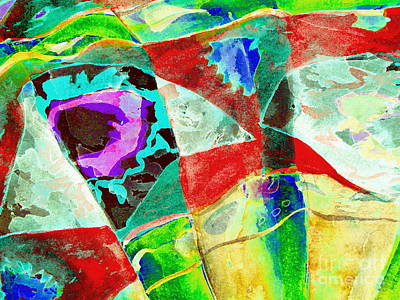 Blue Digital Art - Lovers Bliss by Pamela Iris Harden