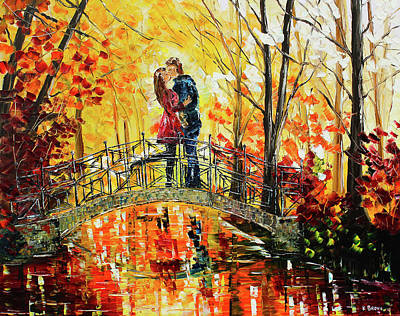 Painting - Lovers by Kevin Brown