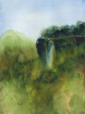 Painting - Lover's Leap  by Frank Bright