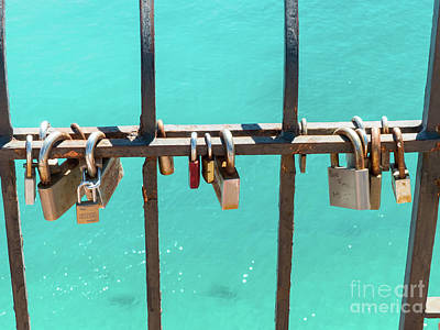 Photograph - Lover's Locks by Rod Jones