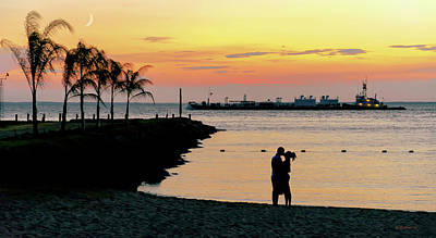 Photograph - Lovers On The Bay by Brian Wallace