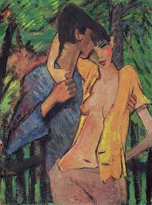 Partner Pastel - Lovers by Otto Muller