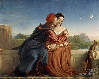 Painting - Lovers, Paolo And Francesca Da Rimini by Celestial Images