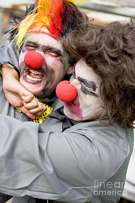 Clown Pair Photograph - Lovers Tiff by Jorgo Photography - Wall Art Gallery