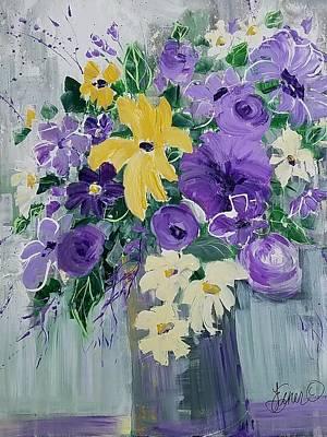 Painting - Loves Me Loves Me Not by Terri Einer