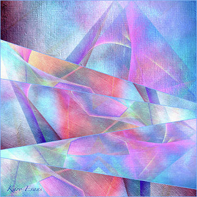 Digital Art - Love's Moments by Karo Evans