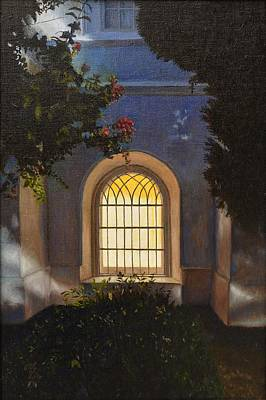 St. George Temple Painting - Love's Pure Light  by Ralph Taeger