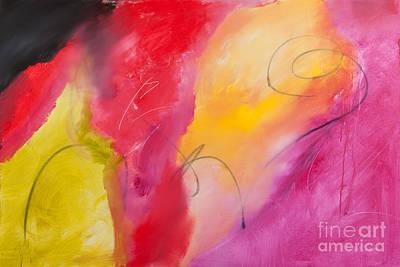 Painting - Lovestruck by Laura Warburton
