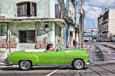 Photograph - Lovin' Lime Green Chevy by Gigi Ebert