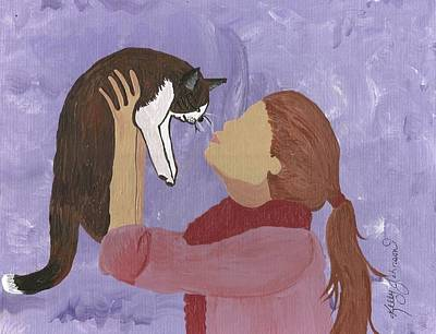 Zipper Painting - Loving Kindness by Kelly J Artist