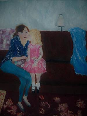 Painting - Loving Moment by Aleezah Selinger