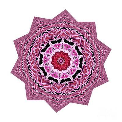 Photograph - Loving Rose Mandala By Kaye Menner by Kaye Menner