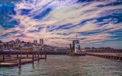 Loving San Francisco Art Print by John M Bailey