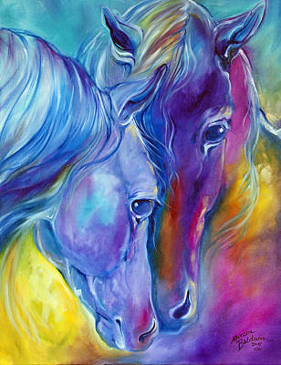 Painting - Loving Spirits by Marcia Baldwin