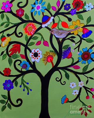 Painting - Loving Tree Of Life by Pristine Cartera Turkus