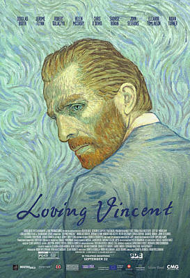 Painting - Loving Vincent Movie Poster by Anna Kluza