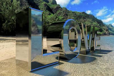 Digital Art - Lovn' It by Gordon Engebretson
