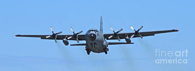 C-130 Wall Art - Photograph - Low And Slow by Rick  Monyahan