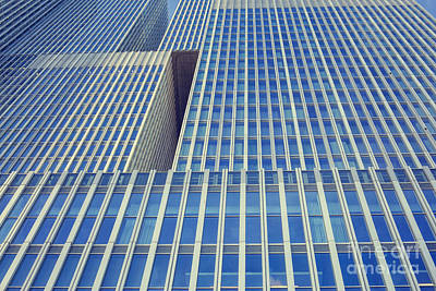 Photograph - Low Angle View Of 'de Rotterdam'  by Patricia Hofmeester