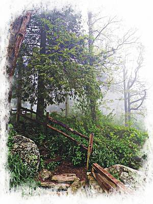 Photograph - Low Clouds On Neels Gap by Joe Duket