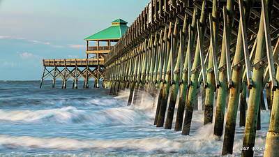 Photograph - Low Country Landmark by Walt Baker