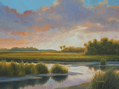 Painting - Low Country Morning by Guy Crittenden