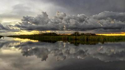Photograph - Low Dark Clouds by Juan Montalvo