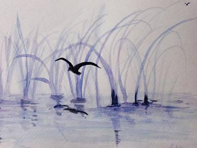 Low Flight Art Print by Trilby Cole