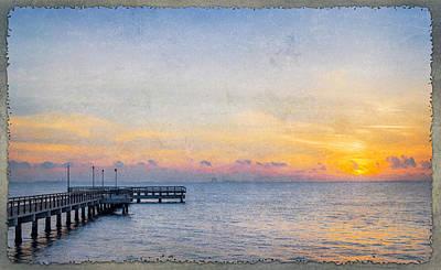 Photograph - Low Key Morning by Leticia Latocki
