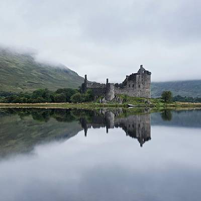 Photograph - Low Mist At Kilchurn by Stephen Taylor