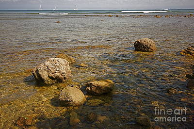 Art Print featuring the photograph Low Tide 2 by Nicola Fiscarelli