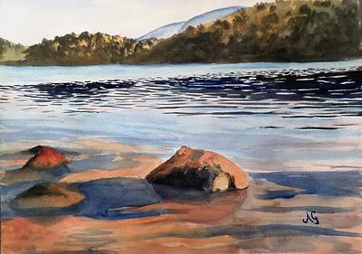 Painting - Low Tide by Anne Gardner